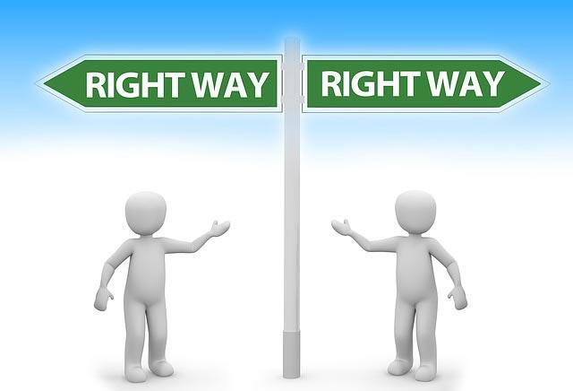 kommunikation ist der richtige weg